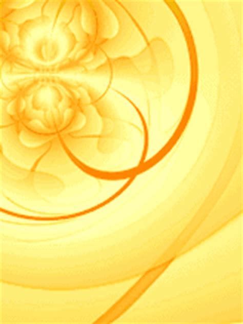 Yellow abstract animated wallpaper