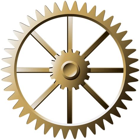 Steampunk Gear PNG Transparent Image | Gallery