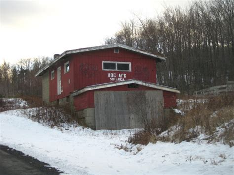 The Remnants Of This Abandoned Ski Resort In Vermont Are