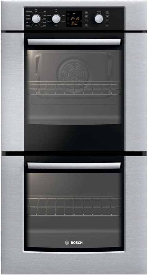 Bosch HBN3520UC 27 Inch Double Electric Wall Oven with