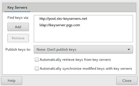 Passwords and Keys: Signing and Encrypting Data   GNOME