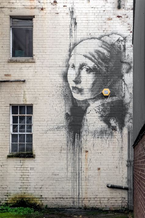 New Banksy Spotted In Bristol The Poke
