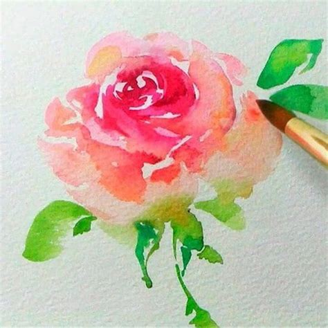 18 Simple and Beginner-Friendly Watercolor Ideas   Simple