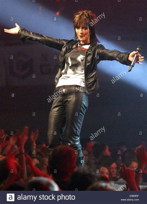 (dpa) - Nena, German pop star and former star of the Neue