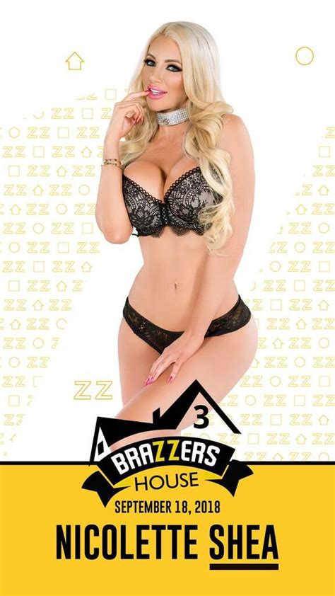 """Nicolette Shea on Twitter: """"Brazzers House 3 Airs For Free"""