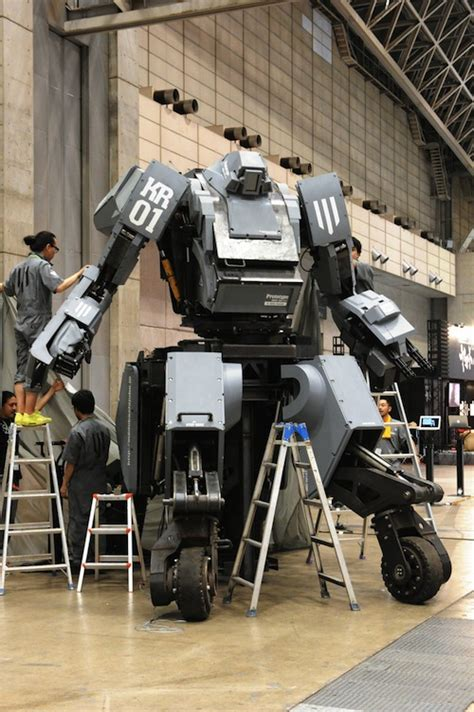 Japanese Company Creates Robot That You Can Ride And