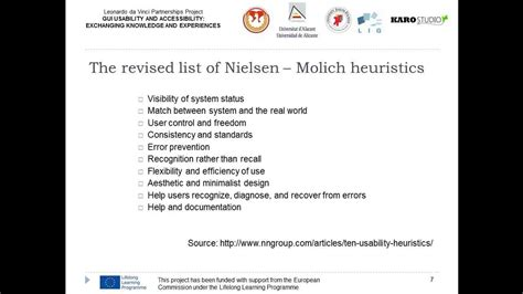 Building a heuristic evaluation checklist - YouTube