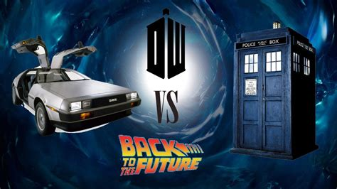 Geek Week Special - Doctor Who VS Back To The Future - YouTube