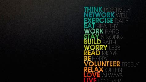 Think Positively Wallpaper - Quotes HD Wallpapers