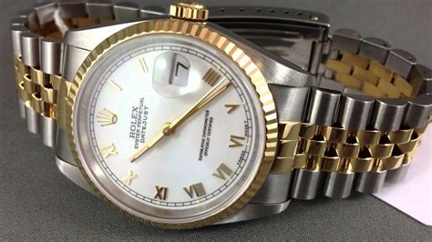 HIGHLY RECOMMENDED WRIST WATCHES - Rolex DateJust 2 Tone