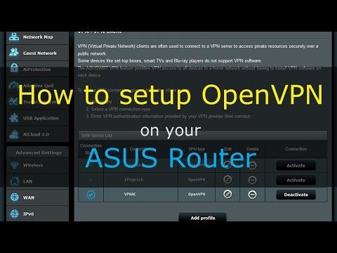 How to Set Up Asus Router with OpenVPN – CyberSilent Vpn
