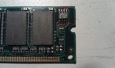 Reading SDRAM configuration data with the Bus Pirate