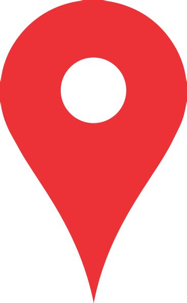 Red Pin Maps Clip Art at Clker