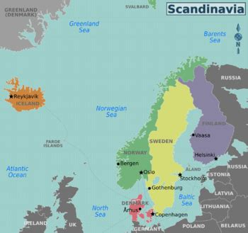 Nordic countries – Travel guide at Wikivoyage