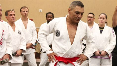 Rickson Gracie Red Belt Ceremony With Interviews - YouTube