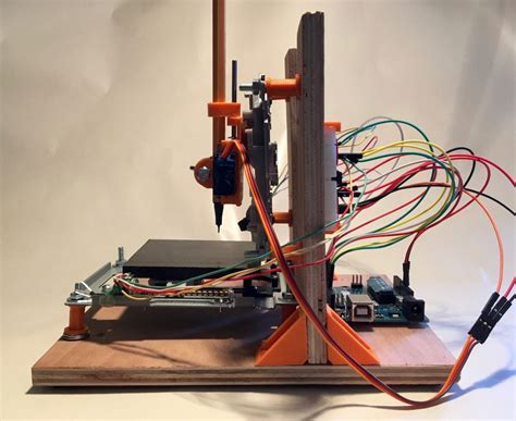Make a Mini CNC Plotter with old DVD players Arduino and L293D