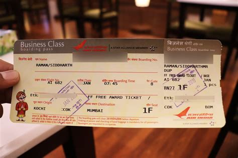 Air India Domestic Business Class Review from Kochi to