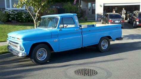 Purchase used 1966 Chevy C-20 Custom Camper Special Nice