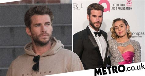 Liam Hemsworth pictured for first time since Miley Cyrus