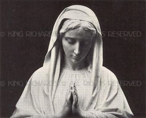 Mary---The-Immaculate-Conception - Life Size Marble Statue