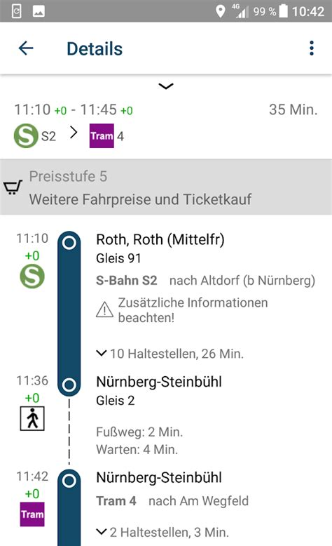 VGN Fahrplan & Tickets - Android Apps on Google Play