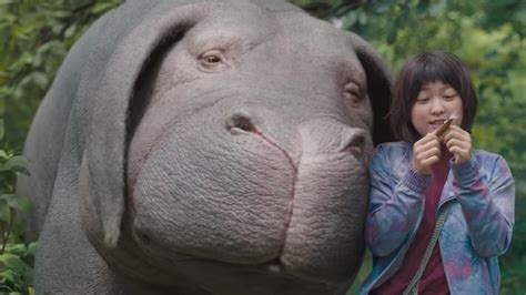 The latest trailer for Okja shows off its cute monster