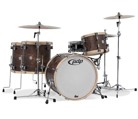 PDP Concept Classic Maple 4-Piece Shell Pack - Walnut
