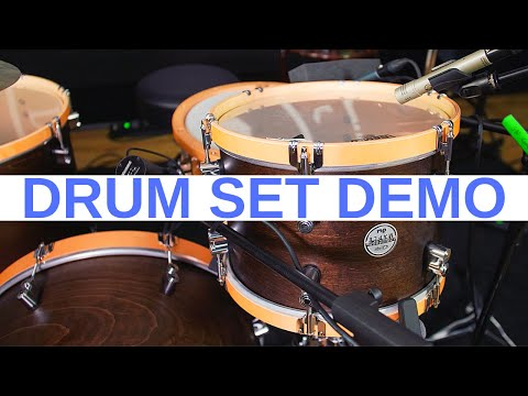 PDP Pacific Concept Maple Exotic Shell Pack in Charcoal