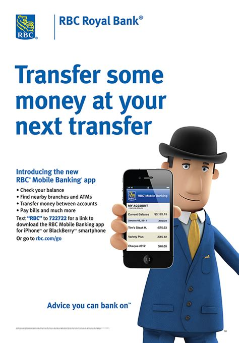 RBC Royal Bank Mobile Banking App Launch on Behance