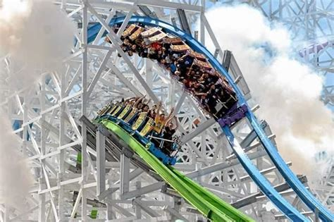 Twisted Colossus: Six Flags Magic Mountain's rickety