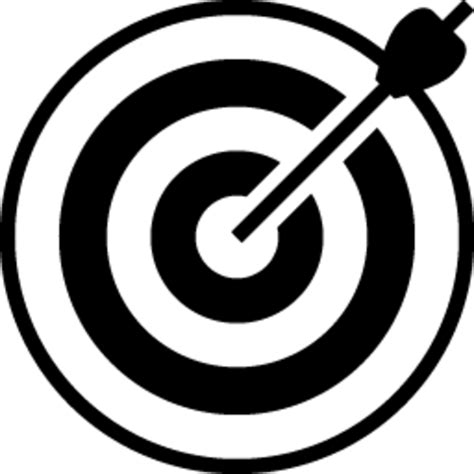 Archery Target Icon | Free Images at Clker