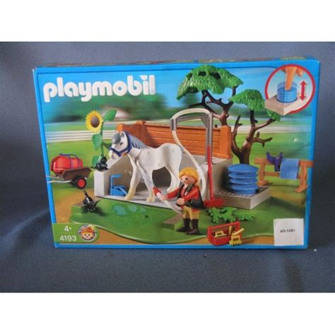 Playmobil Horse Washing Cleaning Station 4193 - Allsold