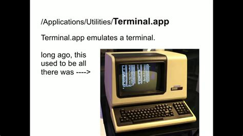 Intro to the Mac OS X Command Line
