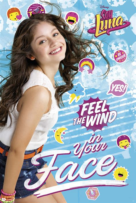 Soy Luna - Feel the wind - Poster - 61x91,5