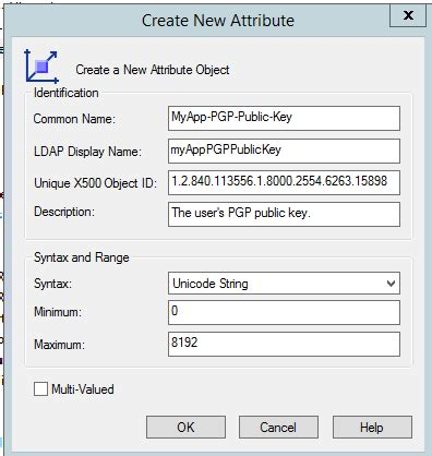 Store PGP keys on Active Directory/Exchange? - Server Fault