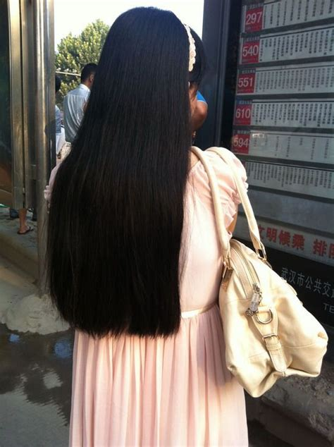 Beautiful long hair trimmed in one length - [ChinaLongHair