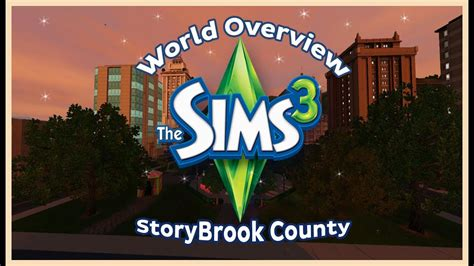 The Sims 3 : Storybrook County World First Impressions