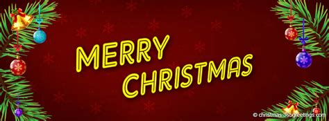 Merry Christmas Facebook Timeline Covers - Christmas