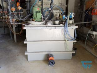 used Air scrubber system with washer, fan and exhauster