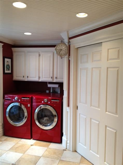 Mudroom & Laundry Room Makeover - Traditional - Laundry