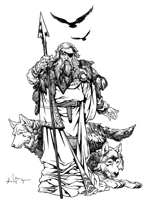Odin - The All Father by andreibressan